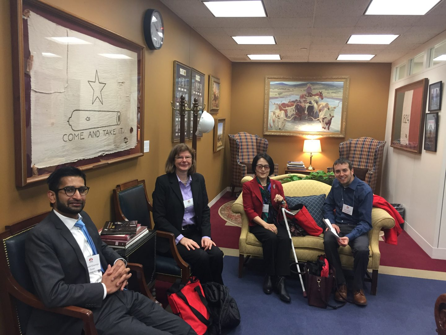 Volunteers from BEBRF joined Advocacy Network in Washington DC